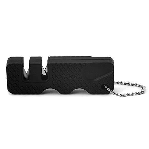 HEIGOO Affilacoltelli Portatile per Utensili tascabili, da Utilizzare per Escursioni in Campeggio o Escursioni all'aperto