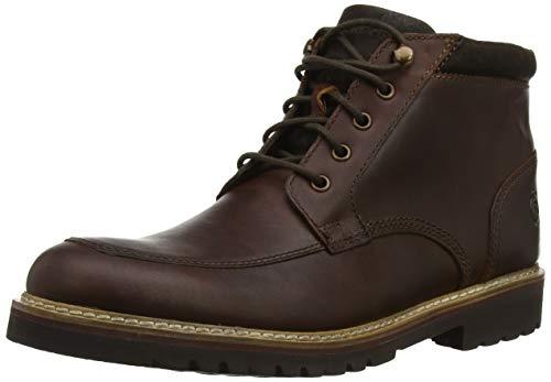 Rockport Herren Marshall Rugged Moc Toe Boot Klassische Stiefel, (Saddle Brown Saddle Brown), 43 EU