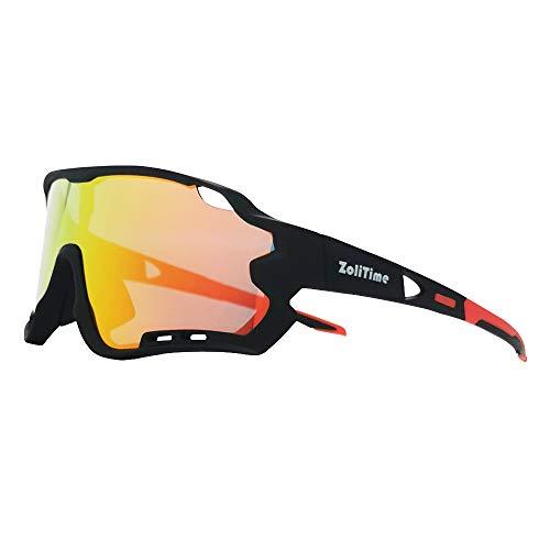 ZoliTime 2020 nuovi occhiali da bici polarizzati occhiali da sole sportivi all'aperto con lenti intercambiabili UV400 4.