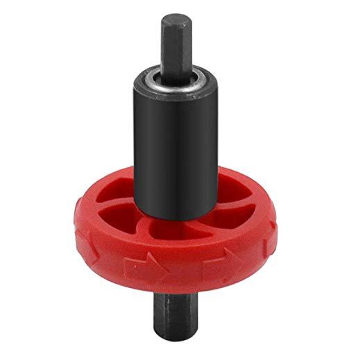 Adaptador de arranque de motor de podadora de césped y jardín con broca de arranque de motor eléctrico