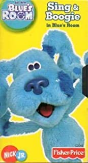 Blue's Room: Sing and Boogie in Blue's Room [VHS]