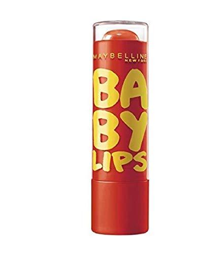 Maybelline NewYork Baby Lips Moisturizing Lip Balm, Orange Burs