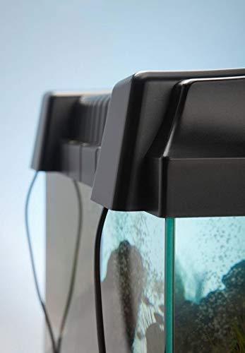 Diversa Aquarium 50er komplett Set 50x25x30 cm rechteck schwarz - 3