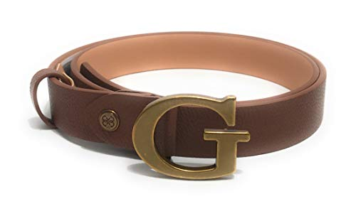 Guess Cinta donna Destiny fibbia con logo in ecopelle brown C21GU22 (L)