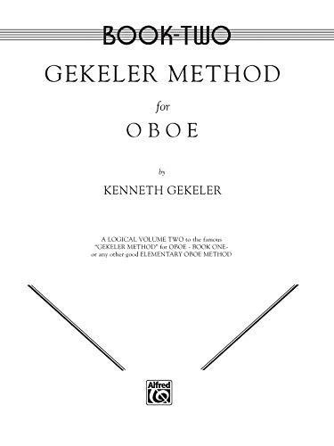 Gekeler Method for Oboe ~ Book Two