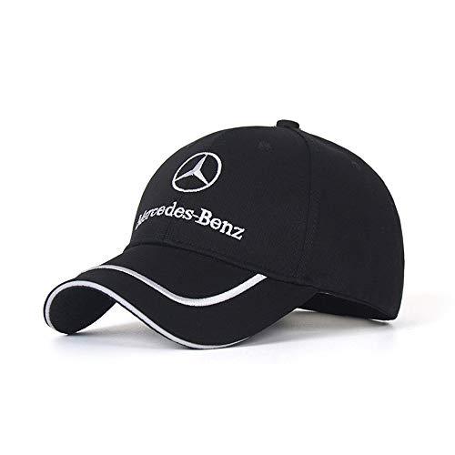 Xuncar 車のロゴ調整可能な野球帽、男女兼用帽子旅行キャップ車F1レースモーター帽子 (ベンツBenz (2))