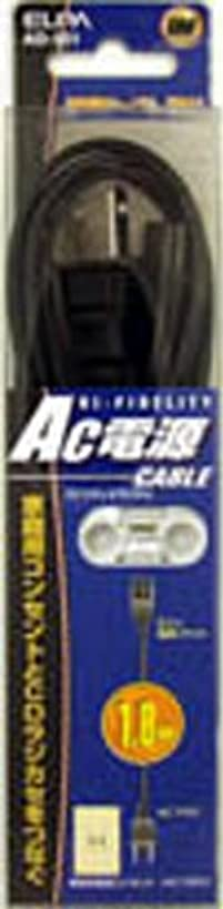 計画的プールマークダウンELPA AC電源コード1.8M AD-901