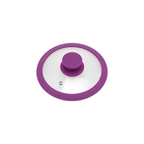 bremermann - Tapa de Cristal con Borde de Silicona para olla