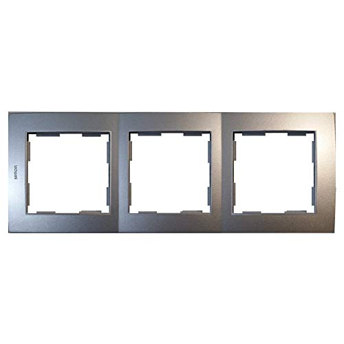 Marco 3 elementos aluminio Simon 28 28630-33