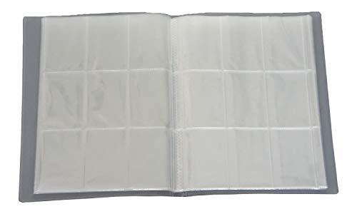 Leere Sammelmappe 24 Seiten (432 Karten) - Ideal für Sammel Bilder/Karten (1)