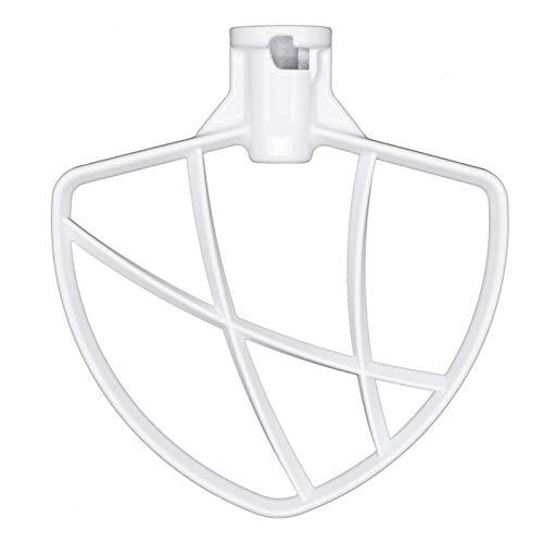 Ymhan® Beschichtete Flache Schläger Fit Für KitchenAid 6 Quart-Bowl-Lift-Stand-Mixer-Tug-Mischen Paddel Pasta-Anhänge Fitfür KitesenDaid