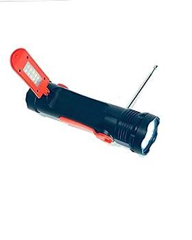 Go Power Solar Flashlight with AM/FM & weatherband Radio