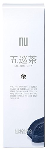 薬日本堂 ニホンドウ 金 健康茶 五巡茶 ×15包入
