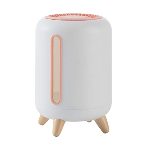 YARNOW Caja De Bombeo De Desodorante De Carbón De Bambú De Plástico Caja De Almacenamiento De Tejido De Escritorio (Color Aleatorio)