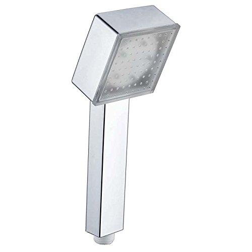 Duschkopf Led Square beleuchteter Duschkopf Sprinkler Bunter selbstfarbiger wechselnder leuchtender farbwechselnder Duschkopf