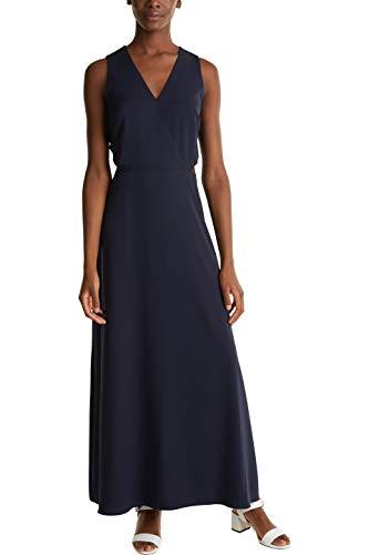 ESPRIT Collection Damen 030EO1E321 Kleid für besondere Anlässe, 400/NAVY, 42