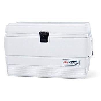 Igloo Réfrigérateur Portable Marine Ultra 51 litres Pêche, Camping Sports, Blanc, 62 x 37 x 39 cm