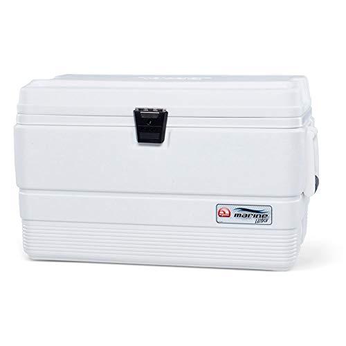 Igloo Marine Ultra Kühltasche, 51 l, für Angeln, Camping, Sport, Weiß, 62 x 37 x 39 cm