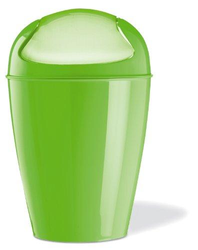 Koziol–Abfalleimer, Größe: S, Farbe: rot Taglia unica grün