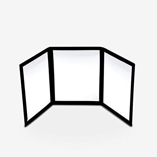 blue-ther 3-Way Mirror by Sean Yang Practicing Mirror for Card Magic Gimmick -