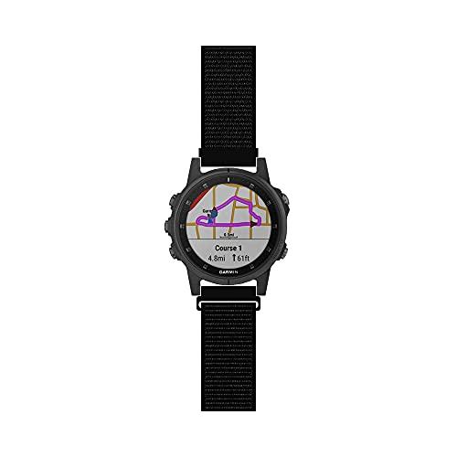 스포츠 메쉬 스타일의 스트랩과 호환 GARMIN FENIX6S PRO | 사파이어 | 태양 프리미엄 멀티스포츠 GPS 시계 밴드에 대한 대체 여성 스포츠에 의하여 길쌈되는 나일론 팔찌 20MM-(10 )크