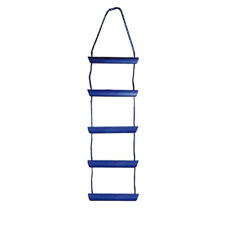 Mareteam® Schlauchbootleiter Badeleiter Strickleiter 5 stufig incl. Knotentafel