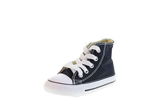 Converse Chuck Taylor All Star High Season, Zapatillas Unisex niño, Negro, 28.5 EU