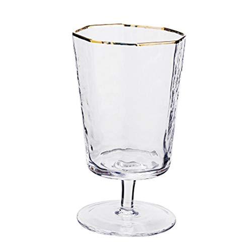 GLADMIN Gafas Taza de Vino de Vino de Vino Tinto Barra Club de Boda Jugo de Vidrio Leche Taza de té con Beber Copas de Vino (Color : A Multifunctional)