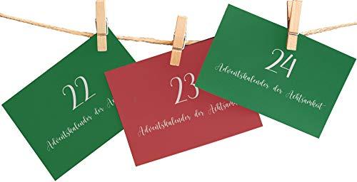 Embracing Mindfulness Adventskalender 2020 - Adventskalender der Achtsamkeit - 24 Achtsamkeitsübungskarten, um die Vorweihnachtszeit in vollen Zügen genießen zu können!