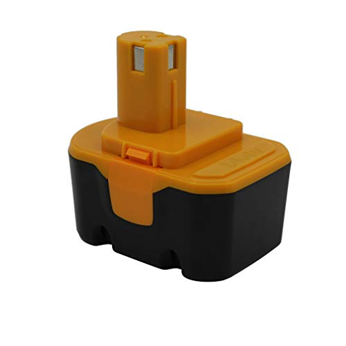KINSUN Sustitución poder herramienta batería 14.4V Ni-MH 3000mAh para Ryobi Taladro inalambrico atornillador de impacto 130224010,130224011,130281002,1314702,1400144,1400655,1400656,1400671,4400011