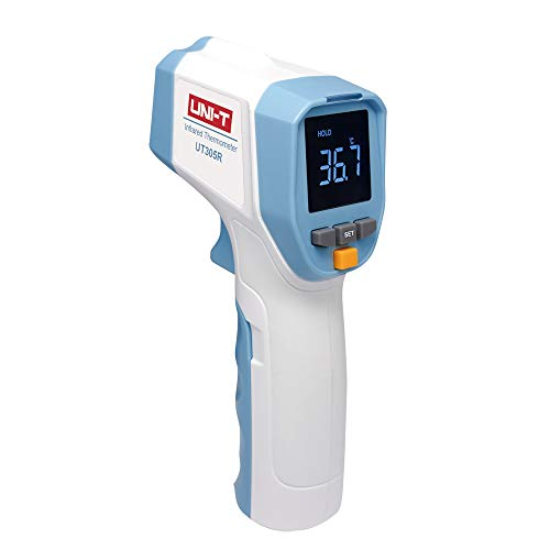 Protmex - Termómetro digital IR (termómetro sin contacto), Blanco, UT305R