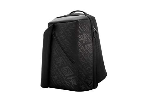 ROG Ranger BP2500G Gaming Backpack (Black), 17L Capacity, Feature Charge-Cable Zipper, Water Repellent Exterior, Suitable for Up to 15.6-inch Laptop and Everyday Use