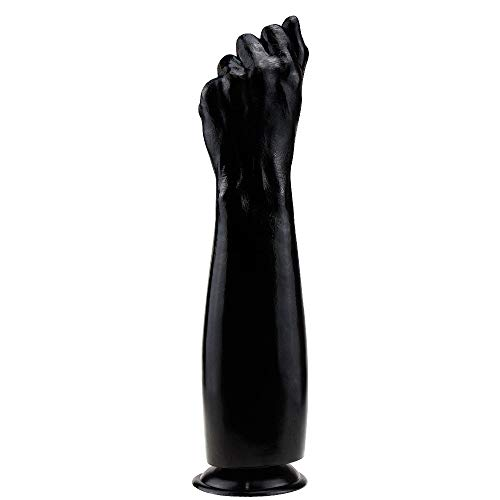 Xiejianjun Huge Fist for Erotic Games Role Play Giant Jeweled Stǐmulator Toy for Men and Women Ðildó Toy Beginners (Color : Black Flesh) Xiejianjun (Color : Black)