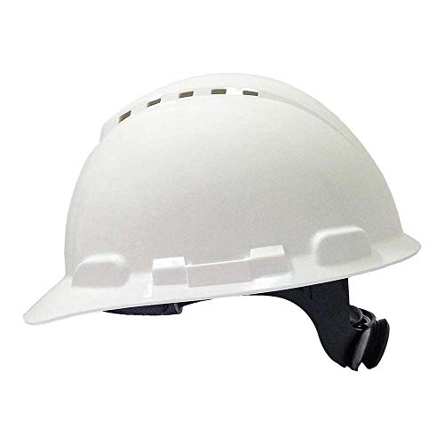 3M Casco con ventilación y arnés de ruleta Blanco (1 casco/bolsa), H700 ⭐