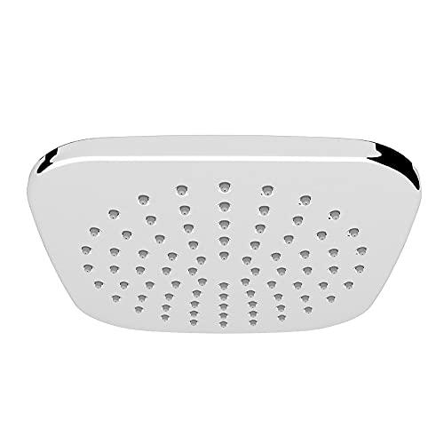 Cabezal de ducha de lluvia de alta presión, cabezal de ducha cuadrado de 8 pulgadas, ángulo ajustable, cobertura de cuerpo completo, cabezal de ducha fijo para baño