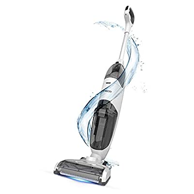 Cordless Wet Dry Vac, Lightweight and Strong Suction Floor Cleaner for Hard Floors, Pet Hair