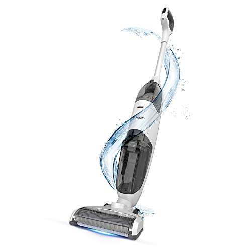 Tineco iFLOOR Cordless Wet Dry Vacuum Cleaner, Lightweight and Strong Suction Floor Cleaner for Hard Floors