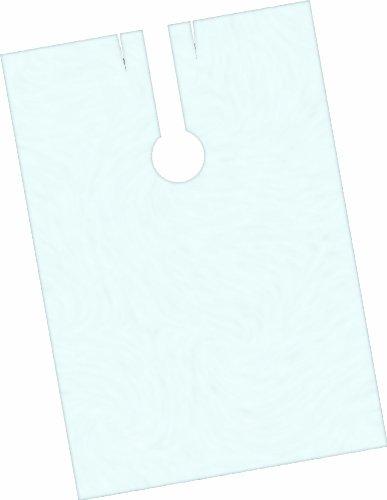 Fripac-Medis - Capas de peluquería desechables (140 x 100 cm, lisas, 100 unidades), transparente