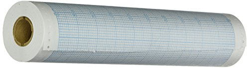 Carltex XR9 Blue Chart Recorder Paper, 630