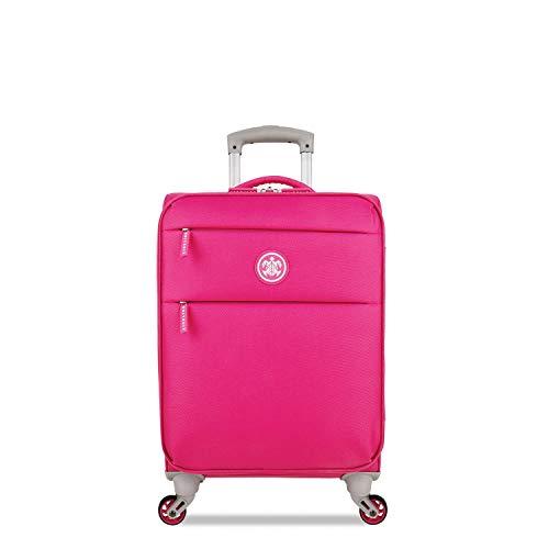 SUITSUIT - Caretta - Handbagagekoffer Soft - 53 cm - Hot Pink