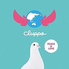 cluppo「PEACE&LOVE」の歌詞を収録したCDジャケット画像