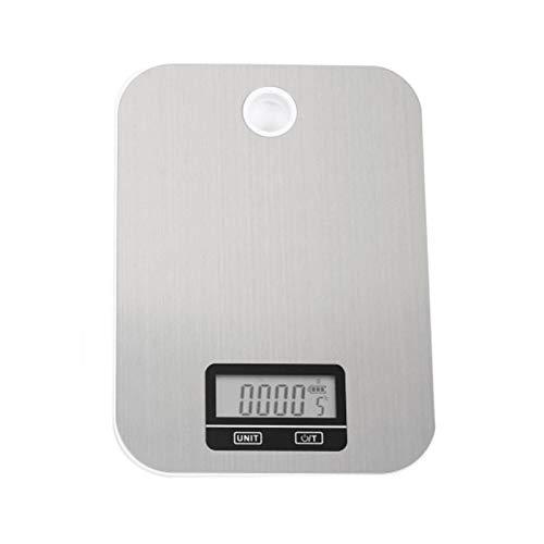 CYONGYOU Báscula electrónica portátil de cocina digital de alimentos báscula de peso
