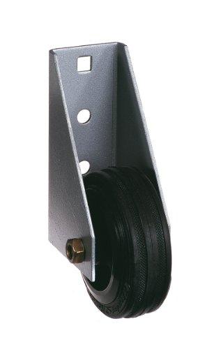 GAH-Alberts 214364 Torlaufrolle, für schwere Tore, zum Anschrauben, feuerverzinkt, Ø80 mm