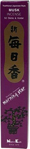 DG-EXODIF Incienso japonés–almizcle–recinto de 50Sticks