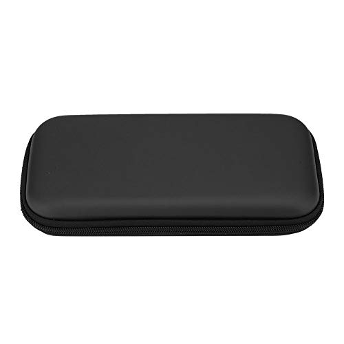 Socobeta Estuche de Almacenamiento con diseño de Espacio súper Grande, Bolsa de Transporte Dura de Tela de Franela Suave Anti-daños portátil para Consola Switch Lite(Black)