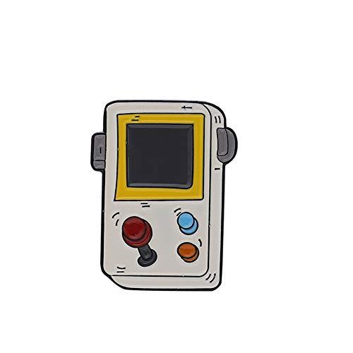Sonnenhut Brosche Mode Retro Arcade-Spiel Konsole Spiel Griff Persönlichkeit Brosche Pin(05)