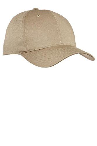 Port Authority® Fine Twill Cap. C800 Khaki OSFA