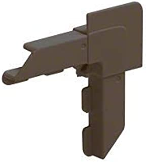 CRL Bronze Square Lip Frame Plastic Corners for WSFL7 Pack of 100 by CR Laurence