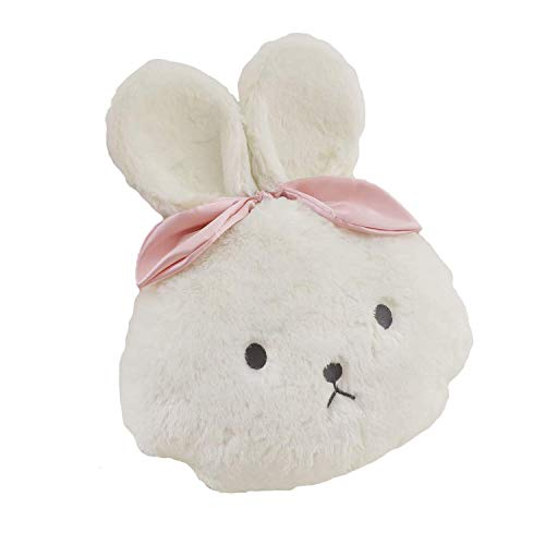 GHJU Kissen Plüschdecke Schlafkomfort Lovely Kaninchen-Look Stoffe Umarmung Kissen für Wohnzimmer Sofa Bett Stühle Auto Schlafzimmer Home Decor 2er Set Qingqiao