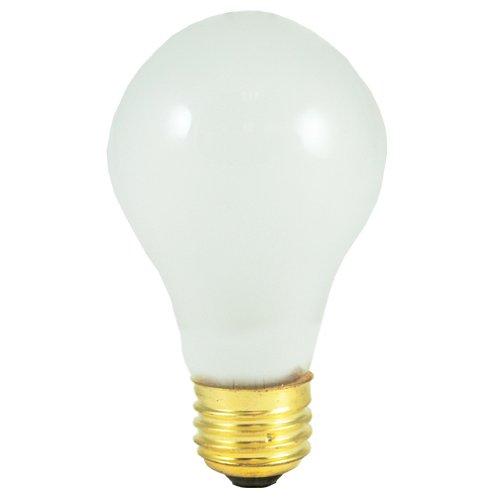 Bulbrite 25A19F/12 25Watt A19 Frost 12 Volt Incandescent Bulbs - 4 Pack